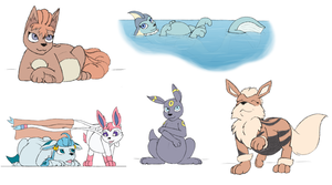 Page'o normal preg ferals by geckoguy123456789