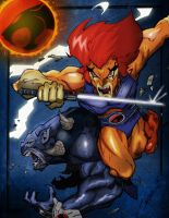 Thundercats ATTACK color by abazou