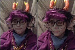 completed eridan cosplay by TwoArmageddons