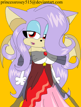 princess rosey the vampire bat by princessrosey515