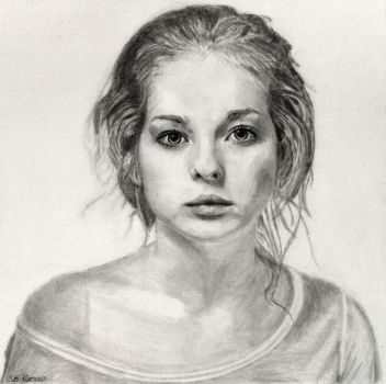 Ksenia in Graphite by shuckaby
