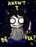 Jeff The Killer by KikWein