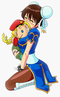 Chun-Li's Cammy Plushy by Glee-chan