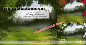 Free Backgrounds by Aomori