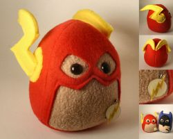 The Flash Plushie by Saint-Angel