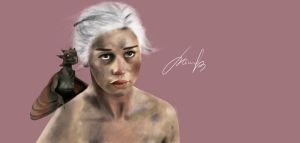 Khaleesi Game of Thrones by RomanianGuy