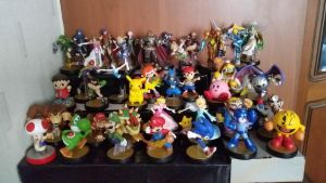 Amiibo Collection by Sorachi-Jirachi