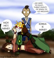 Sokka's MINE by Dahdtoudi