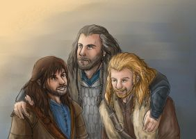 Durin's sons by LaraLerieval