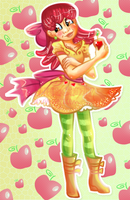 Human Apple Bloom by jujubacandy