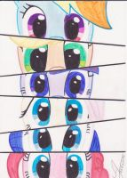 Eyes of a pony by 1Vladislav