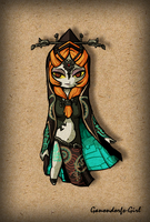 .:Commission:. WW Midna by Anilede