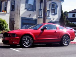 Shelby GT500 Ford Mustang by Partywave