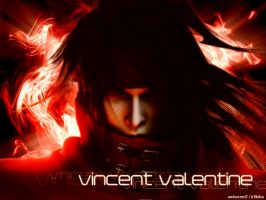 Vincent Valentine Wallpaper by umbreon17