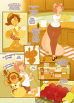 Peaches and Cream Rainy Days in Sunny Side Returns by CookingPeach