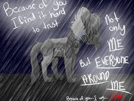 .:Because of You:. by Rainbow-Lava