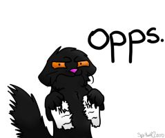 Oops by iW-O-L-F