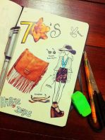 Fashion Time 70's by manupaivaellon