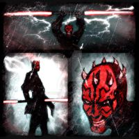 Darth Maul Panels by MetaWorks