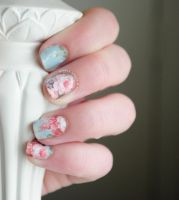 Rose Water Decals by RobertsPhotography