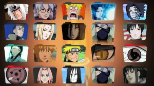 Naruto Folder Icons by 878952