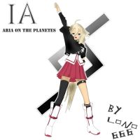 IA ARIA ON THE PLANETES by lono666