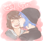 Smooches for SuperMax by kessi-san