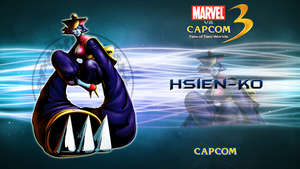 Marvel VS Capcom 3 Hsien Ko by CrossDominatriX5