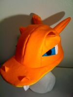 CHARIZARD Hat by ScrapsPatchwork