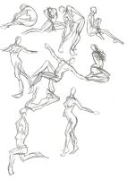 A Year of Gesture Drawing: 032/365 by TommyOliverDraws