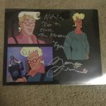 An autograph from Maurice Lamarche by Toongirl18