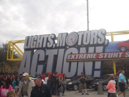 Lights! Motors! ACTION! by blunose2772