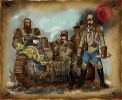 confederate biker group by Robin-Carey