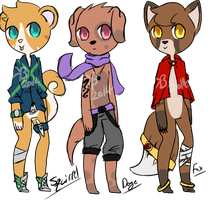 .:Adoptables' batch #3:.:CLOSED:. by puppy30342