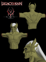 LoK Kain 3D Model ver2 WIP by sinDRAWS