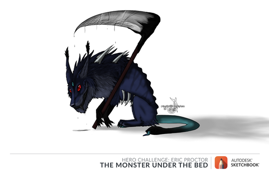 the monster under my bed by wolfmaster387