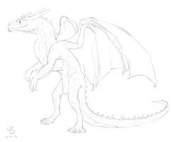 Earth Dragon Lines -Free- by dragongirl00