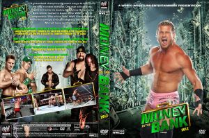 WWE Money in the Bank 2012 DVD Cover V1 by Chirantha