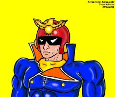 Captain Falcon by Shinobi-Gambu