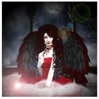 Evening Angel by WyckedDreamsDesigns