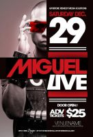 Miguel Live Layout by GFXbyDredesignz