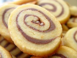 Nutella Pinwheel Cookies by maytel