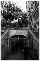 Montmartre Metro by edhall