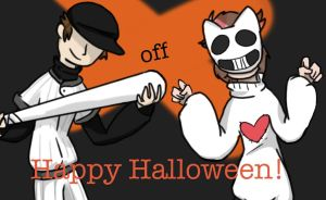 Happy Early Halloween Mother Fuckers by CrisisSpades