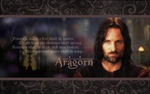Aragorn Wallpaper by drkay85
