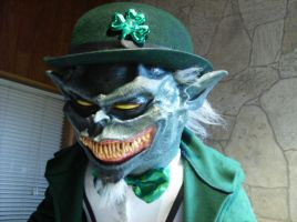 Evil leprechaun close up by DarkAsylumxxx