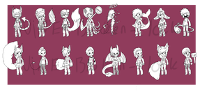CHEAP 16 Adopt Batch //OPEN //PRICE REDUCED by Nine-Broken-Clocks