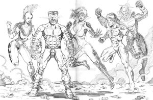 Don's group pencils by hdub7