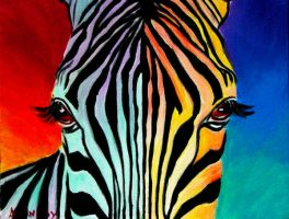 Zebra by dawgart