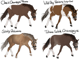 Horse Design Batch 5 by ItsDirrtyArt